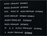 Distance / Alexis Zavialoff