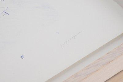 画像3: 横山雄 リトグラフ作品『WAITING FOR THE DOOR TO OPEN』