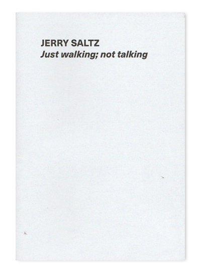 画像1: Just walking; not talking / Jerry Saltz