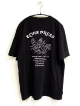 ELVIS PRESS TEE (BLACK)